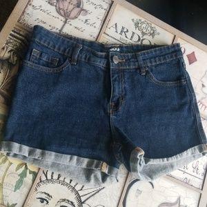 Great Dark wash Mid rise PacSun Shorts